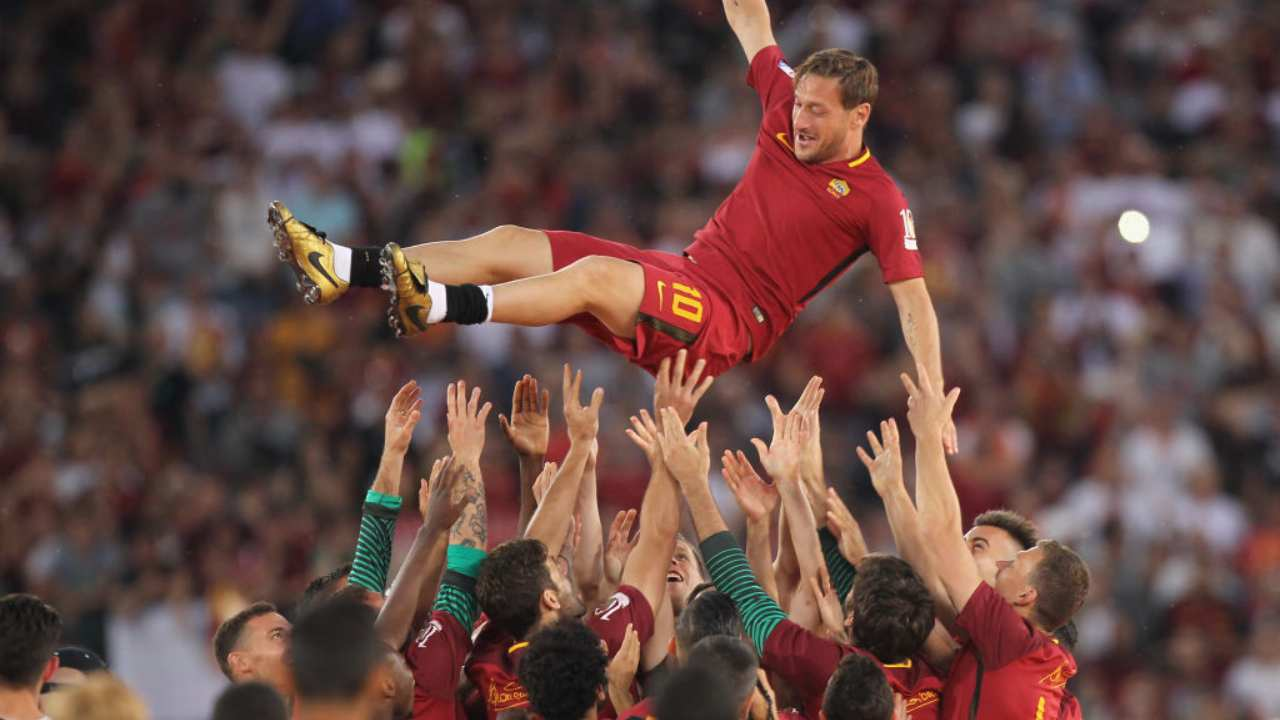 getty images - francesco totti