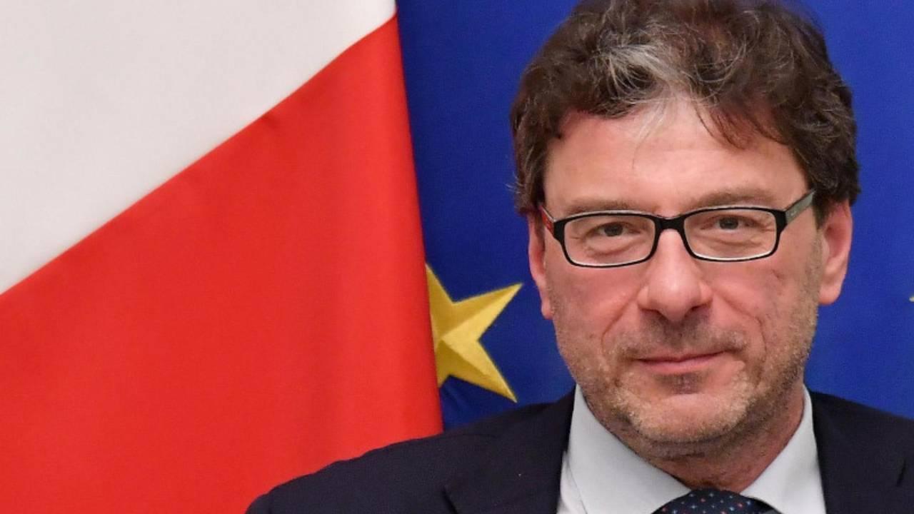ministro giorgetti (web source)