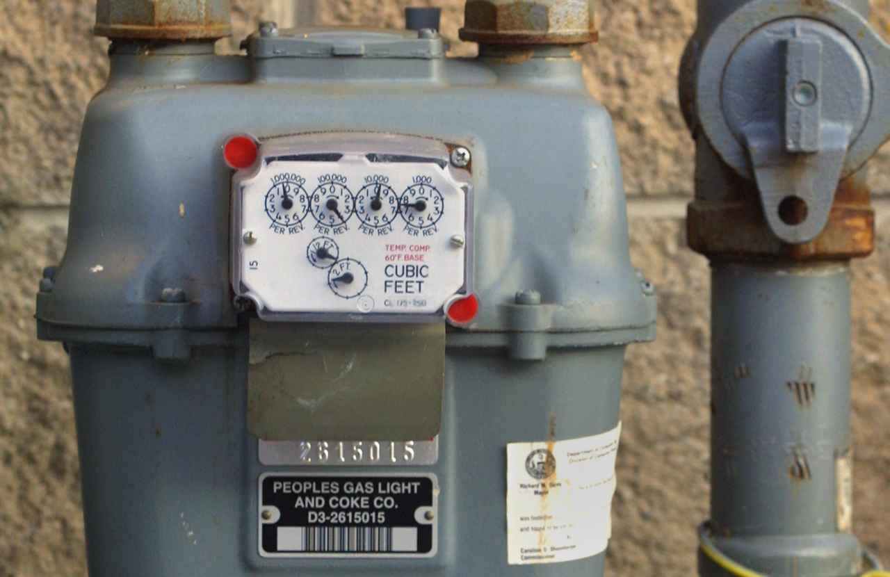 contatore gas